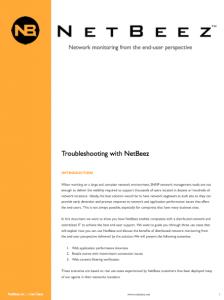Troubleshooting with NetBeez - Thumbnail