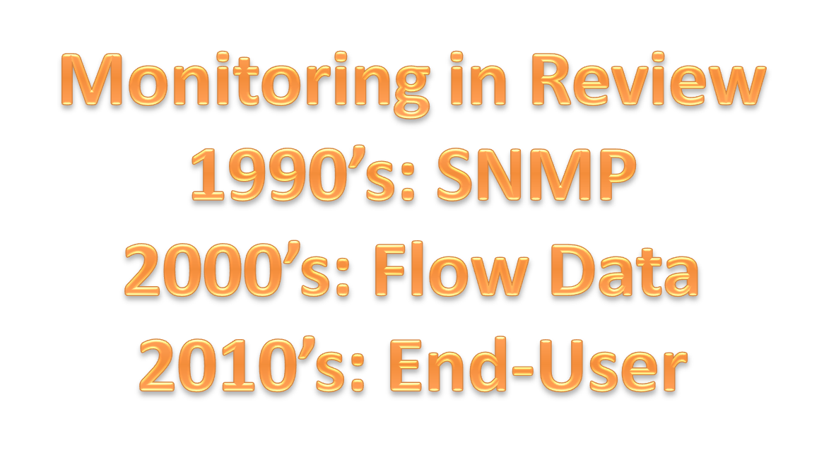 3 Phases of Network Monitoring in 3 Decades