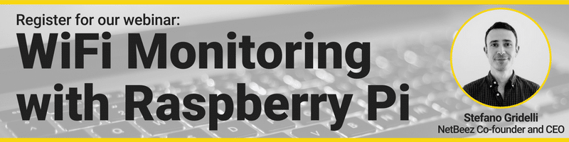 WiFi Monitoring with Raspberry Pi