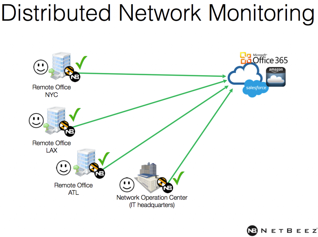 Distributed network monitoring