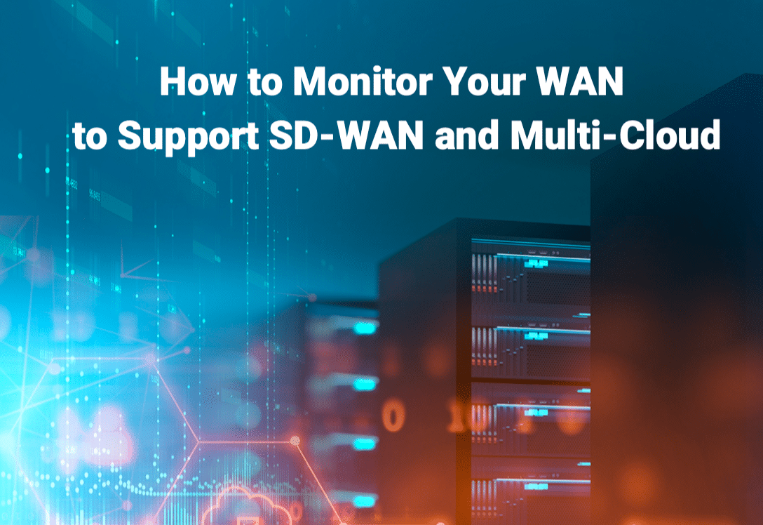 How to monitor sd-wan and multi-cloud