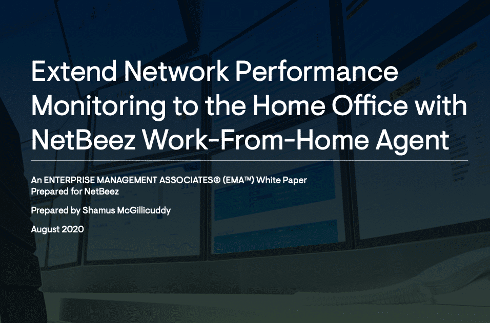 NetBeez WFH Network Monitoring