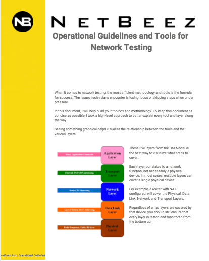 operational tools and guideline