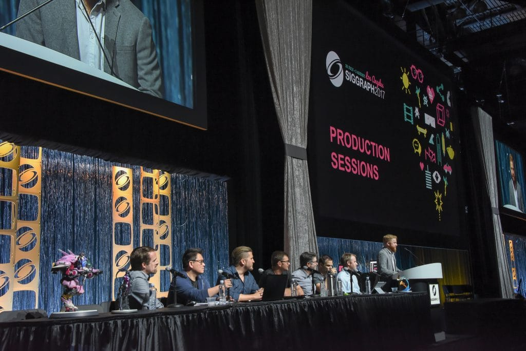 panel session at SIGGRAPH 2017