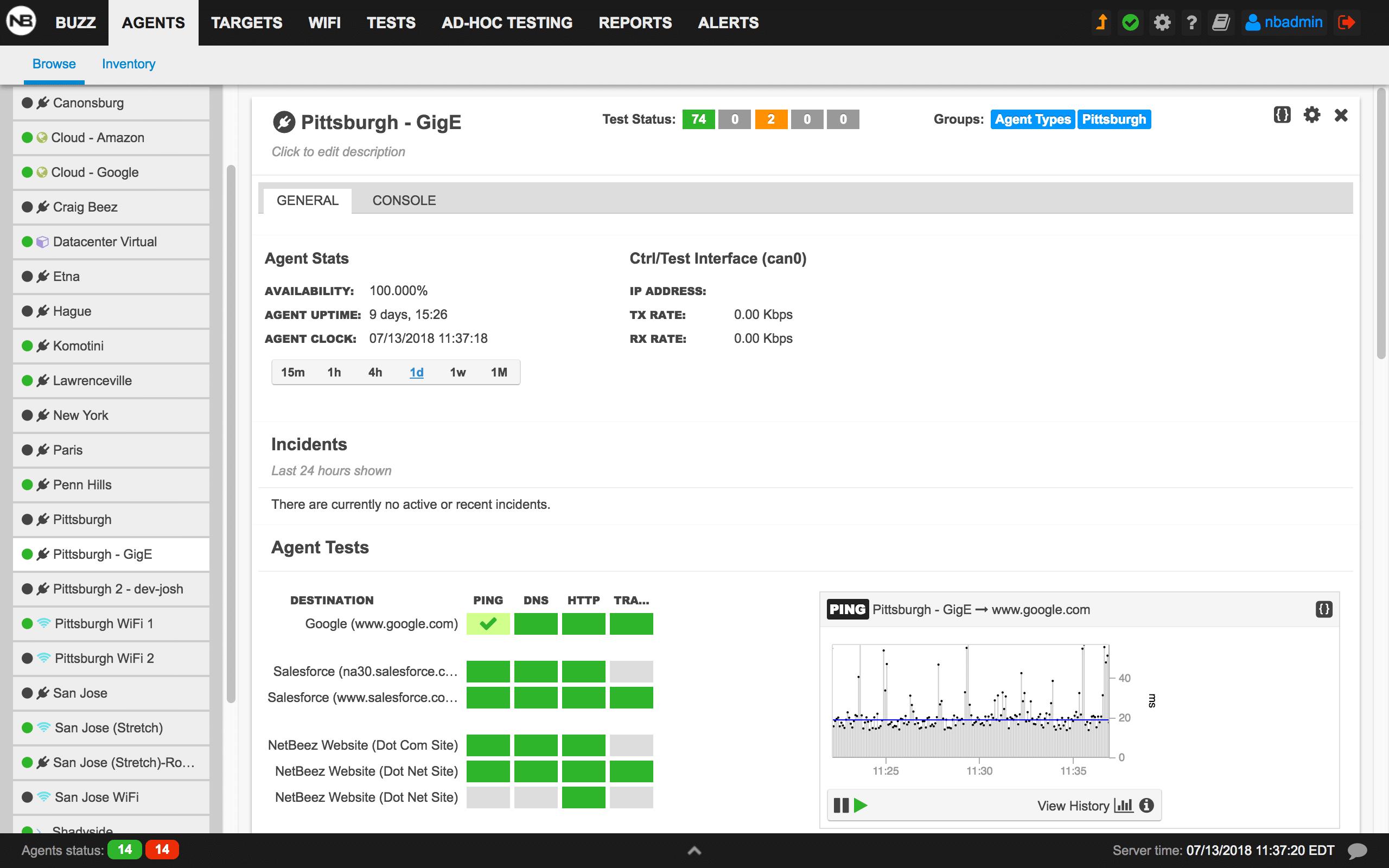 Network Monitoring Solution | NetBeez Network Monitoring