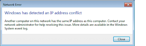 Troubleshoot and Resolve IP Address Conflicts