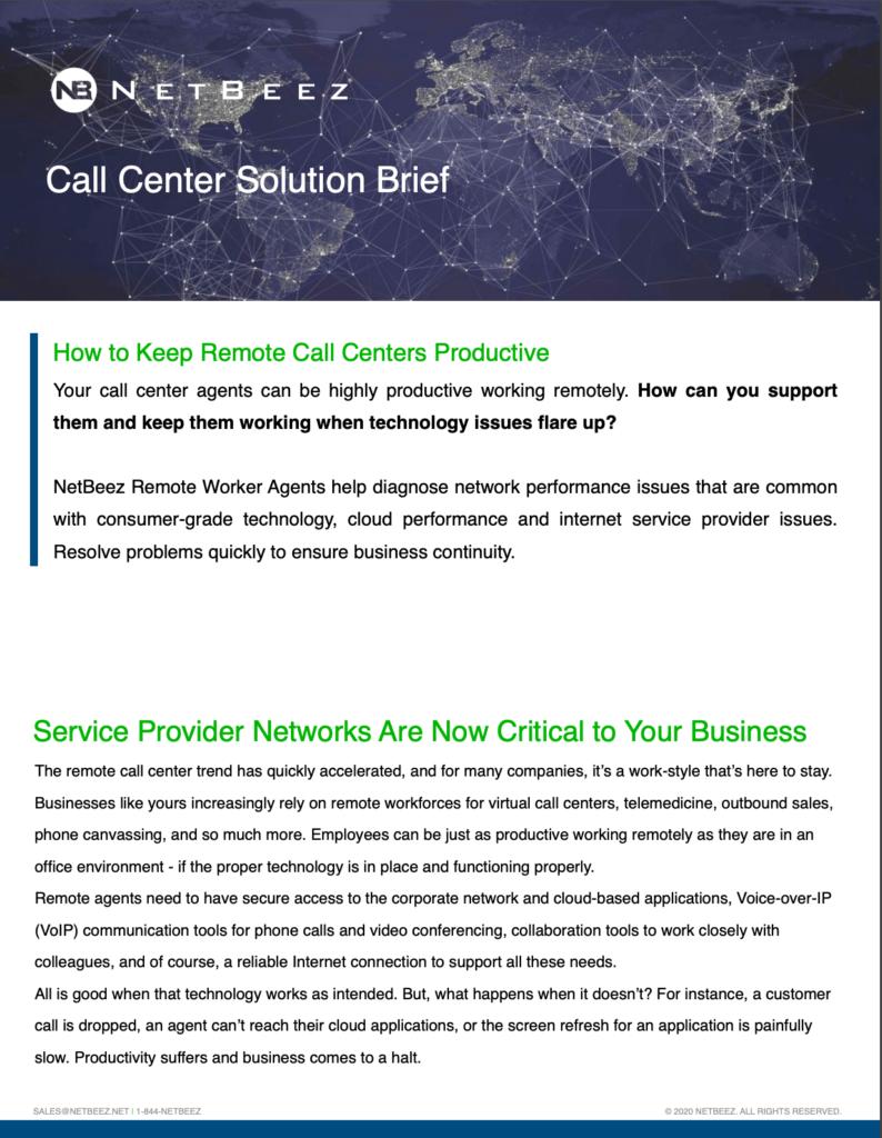 call center pdf