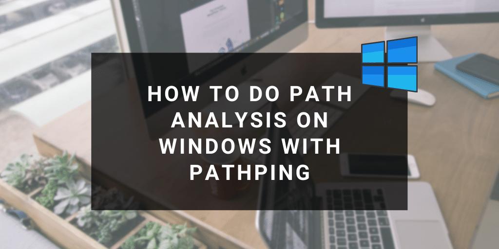 windows pathping